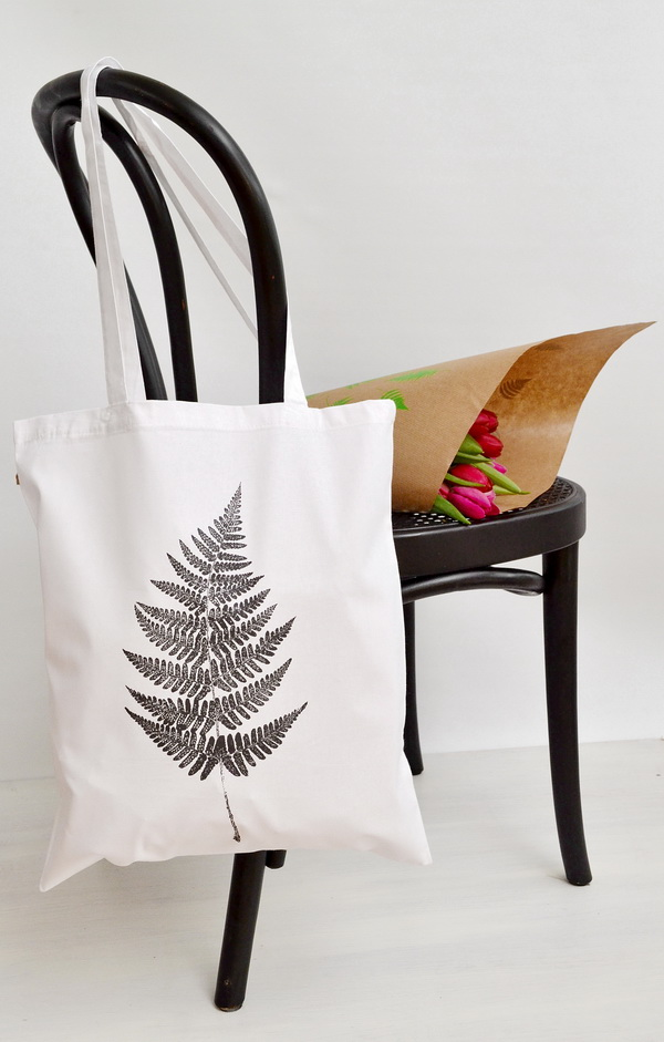 FERN SHOPPING BAG