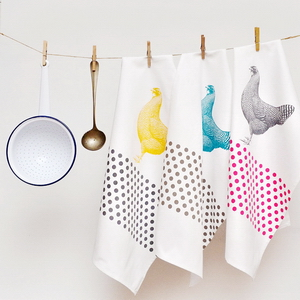 PACKAGE OF 4 TEA TOWEL