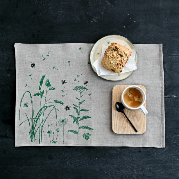 PLACEMATS SET MEADOW
