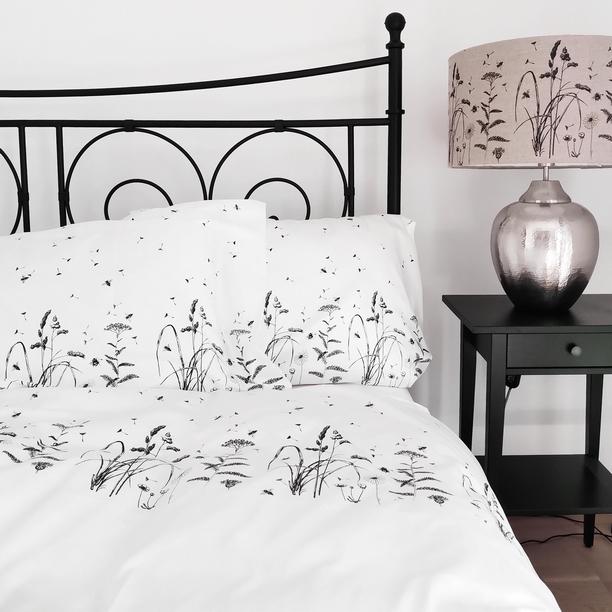 BED LINEN BLACK MEADOW